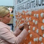 Jeanine Hennis-Plasschaert minister van Defensie.
