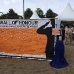 Wall of Honour op het Malieveld