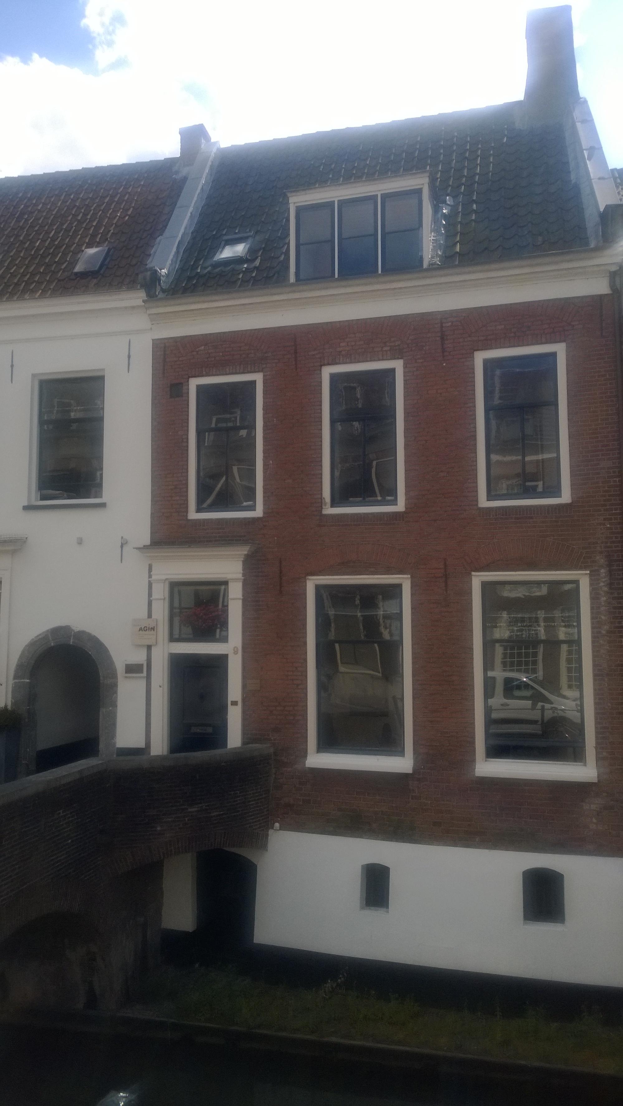 Kantoor aan Kromme Nieuwegracht Utrecht.