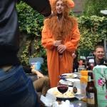 Joost verkleed als leeuw