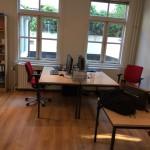 Het staat, onze nieuwe office ingericht.